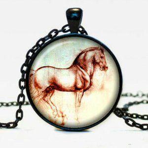 Horse Necklace